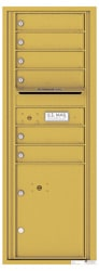 Florence 4C Mailboxes 4C13S-06 Gold Speck
