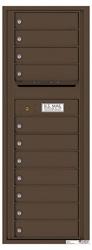 Florence 4C Mailboxes 4C13S-11 Antique Bronze