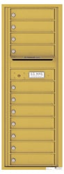Florence 4C Mailboxes 4C13S-11 Gold Speck