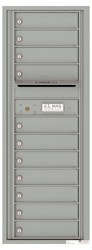 Florence 4C Mailboxes 4C13S-11 Silver Speck