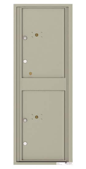 4C13S-2P Front Loading Private Use Commercial 4C Parcel Lockers – 2 Parcel Lockers Product Image
