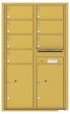 Florence 4C Mailboxes 4C14D-07 Gold Speck