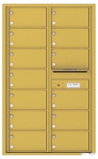 Florence 4C Mailboxes 4C14D-13 Gold Speck
