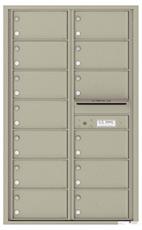 Florence 4C Mailboxes 4C14D-13 Postal Grey