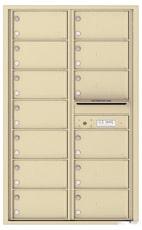 Florence 4C Mailboxes 4C14D-13 Sandstone