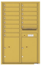 Florence 4C Mailboxes 4C14D-14 Gold Speck