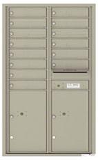 Florence 4C Mailboxes 4C14D-14 Postal Grey