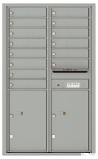 Florence 4C Mailboxes 4C14D-14 Silver Speck