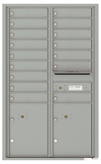 Florence 4C Mailboxes 4C14D-16 Silver Speck