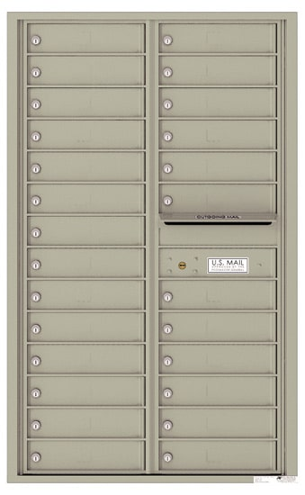 4C14D-26 Front Loading Private Use Commercial 4C Mailboxes – 26 Tenant Doors Product Image
