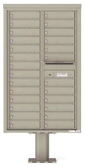 4C14D-26-P Commercial 4C Pedestal Mailboxes – 26 Tenant Doors Product Image