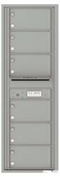 Florence 4C Mailboxes 4C14S-06 Silver Speck