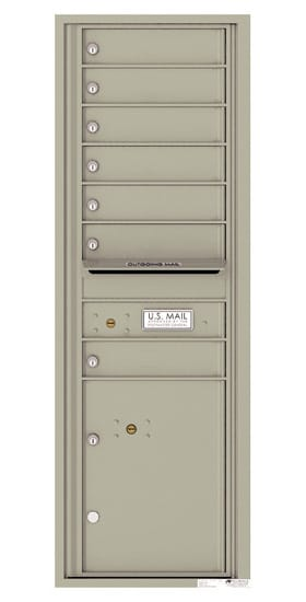 4C14S07 4C Horizontal Commercial Mailboxes