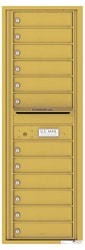 Florence 4C Mailboxes 4C14S-12 Gold Speck
