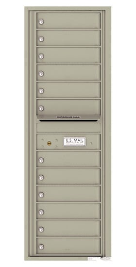 4C14S12 4C Horizontal Commercial Mailboxes