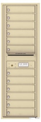 Florence 4C Mailboxes 4C14S-12 Sandstone