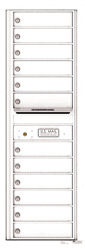 Florence 4C Mailboxes 4C14S-12 White