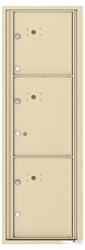 Florence 4C Mailboxes 4C14S-3P Sandstone