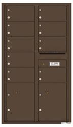 Florence 4C Mailboxes 4C15D-09 Antique Bronze