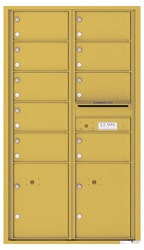 Florence 4C Mailboxes 4C15D-09 Gold Speck