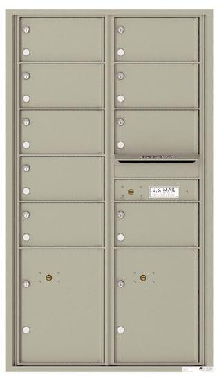 4C15D09 4C Horizontal Commercial Mailboxes