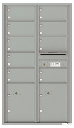 Florence 4C Mailboxes 4C15D-09 Silver Speck