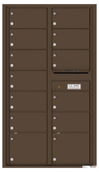 Florence 4C Mailboxes 4C15D-13 Antique Bronze