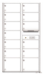 Florence 4C Mailboxes 4C15D-13 White