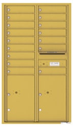 Florence 4C Mailboxes 4C15D-16 Gold Speck
