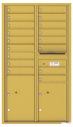 Florence 4C Mailboxes 4C15D-17 Gold Speck