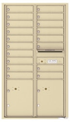 Florence 4C Mailboxes 4C15D-18 Sandstone