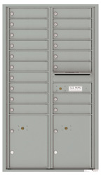 Florence 4C Mailboxes 4C15D-18 Silver Speck