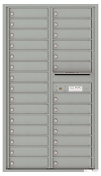 Florence 4C Mailboxes 4C15D-28 Silver Speck