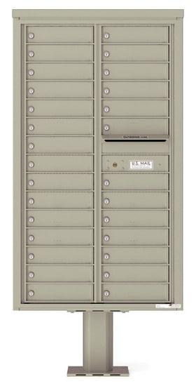 4C15D-28-P Commercial 4C Pedestal Mailboxes – 28 Tenant Doors Product Image