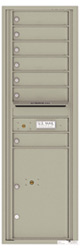 Florence 4C Mailboxes 4C15S-07 Postal Grey