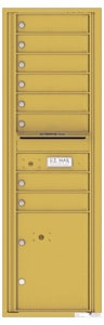 Florence 4C Mailboxes 4C15S-08 Gold Speck