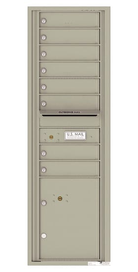 4C15S08 4C Horizontal Commercial Mailboxes