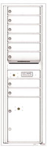 Florence 4C Mailboxes 4C15S-08 White