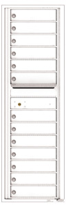 Florence 4C Mailboxes 4C15S-13 White