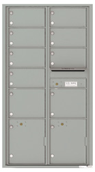 Florence 4C Mailboxes 4C16D-09 Silver Speck