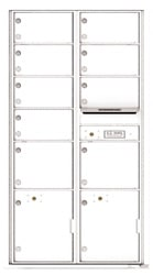 Florence 4C Mailboxes 4C16D-09 White