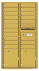 Florence 4C Mailboxes 4C16D-20 Gold Speck