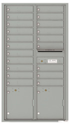 Florence 4C Mailboxes 4C16D-20 Silver Speck