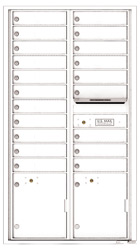 Florence 4C Mailboxes 4C16D-20 White