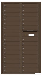 Florence 4C Mailboxes 4C16D-29 Antique Bronze