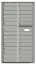 Florence 4C Mailboxes 4C16D-29 Silver Speck