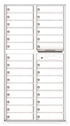 Florence 4C Mailboxes 4C16D-29 White