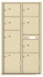 Florence 4C Mailboxes 4C16D-8P Sandstone