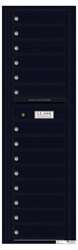 Florence 4C Mailboxes 4C16S-14 Black
