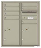 Florence 4C Mailboxes 4CADD-07 Postal Grey